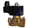 Picture of BRASS DIAPHRAGM VALVE 2/2 WAY WITH DIN COIL