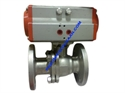 Picture of ACTUATOR WITH FLANGE BALL VALVE