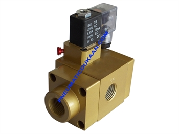 Picture of SINGLE SOLENOID VALVE 3/2 WAY(EP TYPE)-NORMALLY CLOSED